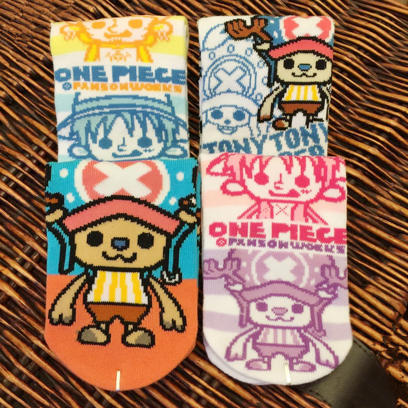 One Piece Straw Hat Pirates Luffy Socks Adventure Anime Comics Sock Spring Summer Mens Unisex Comfortable Breathable Socks 2018