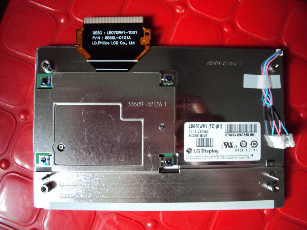 7 LCD display LB070WV1 TD01 LB070WV1 TD 17 screen special for Canada Mercedes W204 font b