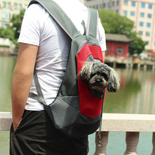 Outdoor Pet Dog Carrier Bag Front Double Shoulder Portable Travel Backpack Mesh Small Supplies