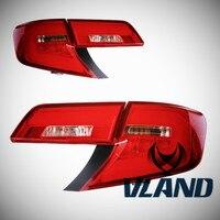 VLAND производитель для автомобиля задний фонарь для Camry светодиодный фонарь 2012 2013 2014 для Camry поворотники, аксессуары лампы с DRL + обратный + тор