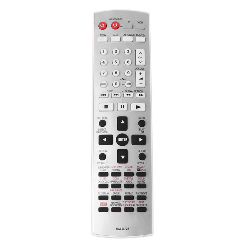 Remote Control Replacement for Panasonic EUR7722X10 DVD Smart Television TV Controller Home Theater Systems