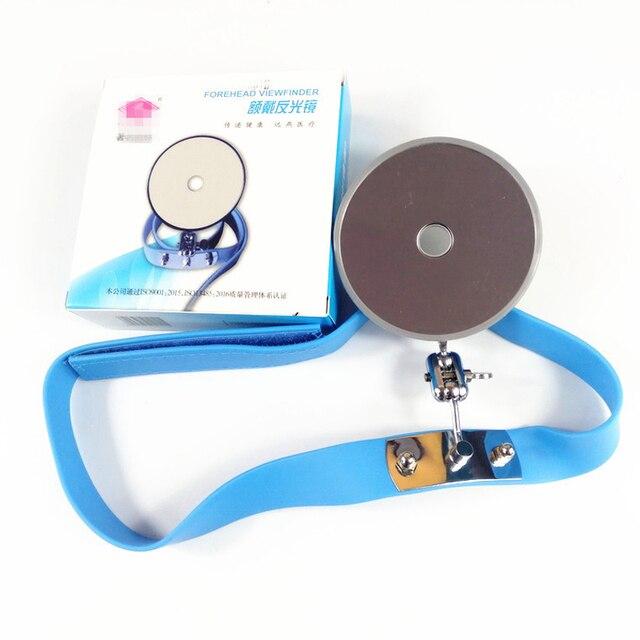 Refletor para médico 8mm visor de testa para otorrinolaringologia médicos estagiários estudantes frontal espelho especial para ent