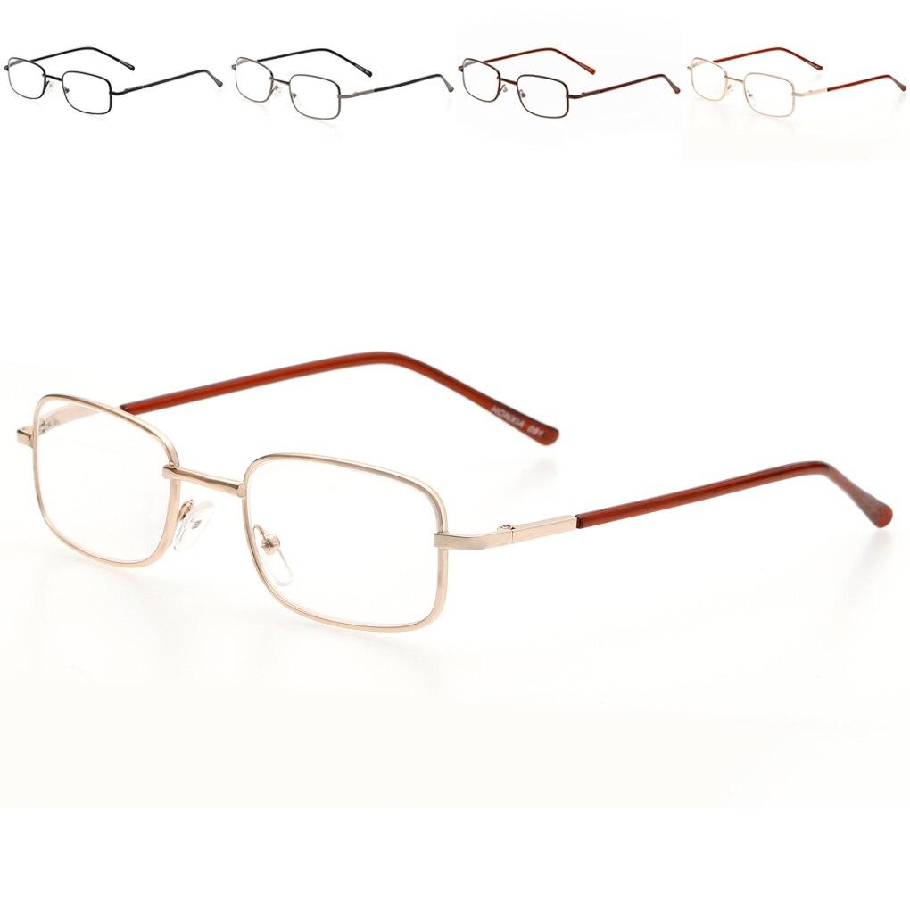 Metall Brillen Rahmen Rechteck Presbyopie Hyperopie Alten Mann ...