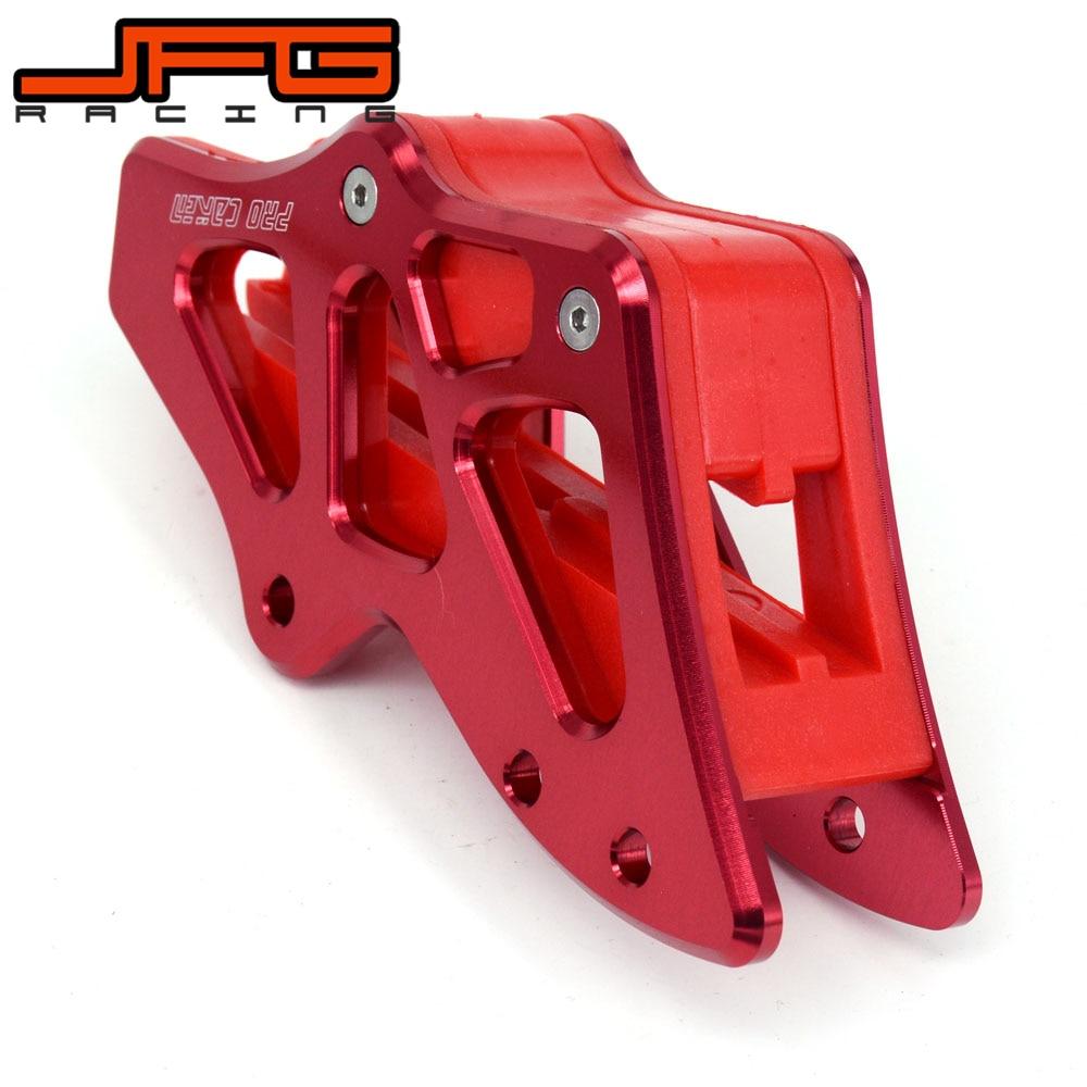 Moto CNC Chaîne Guide Garde Protection Pour HONDA CR125R CR250R CRF450X 2005-2007 CRF250R CRF450R 2005-2006 CRF250X 2006