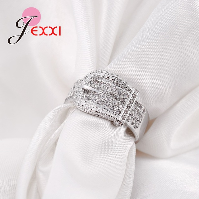 925 Sterling Belt Buckle Silver Ring 2
