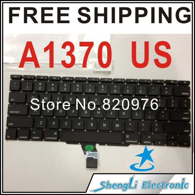 """For APPLE MacBook Air A1370 11"""" US Keyboard With Backlight+Free Shipping"""