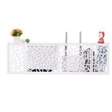 лучшая цена Europe living room shielding multifunctional collection storage shelf cabinet box rack hanger socket cover TV set-top stacks