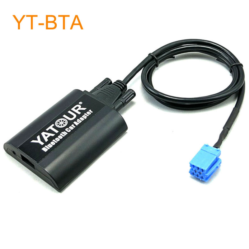 Yatour BTA Car Bluetooth Adapter for Factory OEM Head Unit Radio Command for Smart Roadster ForTwo ForFour and for Lancia Lybra car usb sd aux adapter digital music changer mp3 converter for skoda octavia 2007 2011 fits select oem radios