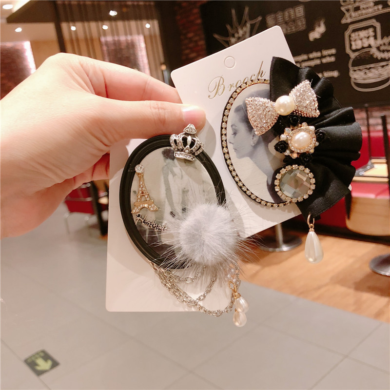 CX-Shirling New Design Winter Fashion Fur Brooch Antique Style Quality BroochesJewelry Female Jewelry Gifts