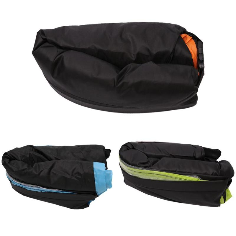 Portable Sofa Shape Sleeping Bed Inflatable Oxford Cloth Lounge Foldable Lazy Sofa Outdoor Camping Beach Relax Sleeping Airbags