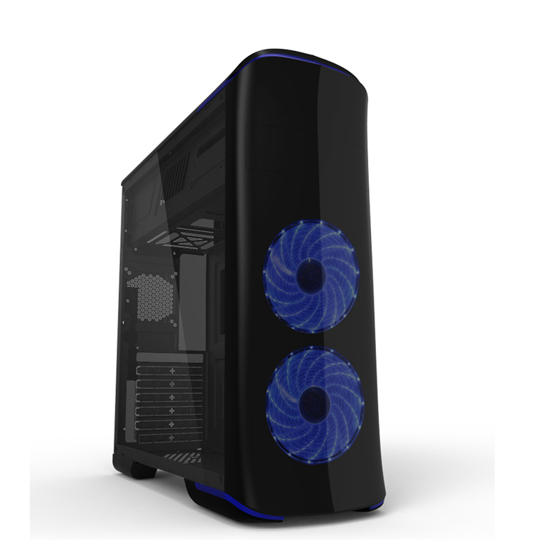 Best Computer Case Gaming Cabinet Full Tower PC Desktop Water Cooler Chassis Aluminum Game Case Support Server Micro ITX Boards