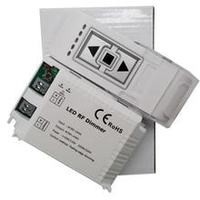 High Voltage AC90-240V wireless LED Brightness RF Dimmer 3keys remote controller Trailing Edge Dimming For lights bulb DM014