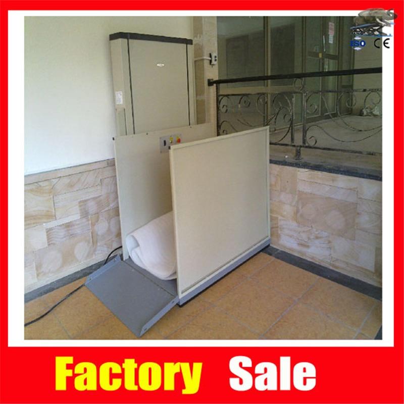 2m cheap wheelchair home elevator lift
