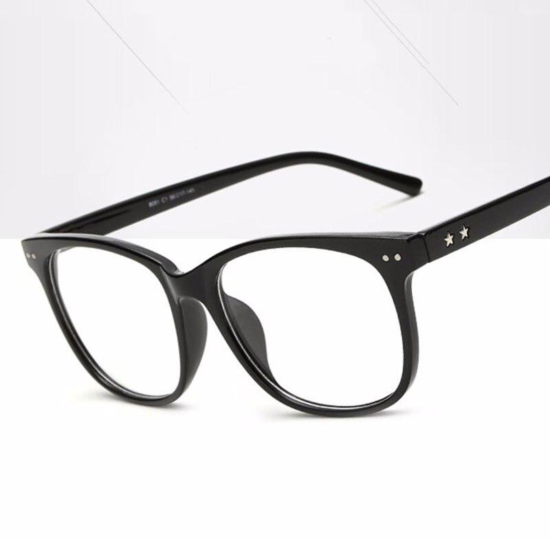 Men Eyeglasses Frame Optical Glasses Eyeglass Frames Brand Female Clear Lens Glasses Frame Women Retro Fashion Plain Mirror