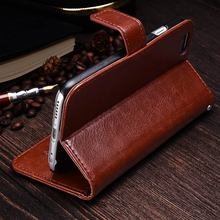 Wallet Leather Case For iPhone 6 6S Plus Luxury Coque Cover for iPhone 6 S 6S Plus Phone Cases With Card Slot TOMKAS Brand