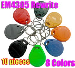 10pcs lot em4305 rfid tag copy cards rewritable writable 125khz tag keyfobs write tag for copy.jpg 250x250