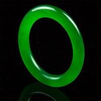 Hermoso verde natural pulsera de piedra de moda Mujer regalo de la joyería al por mayor