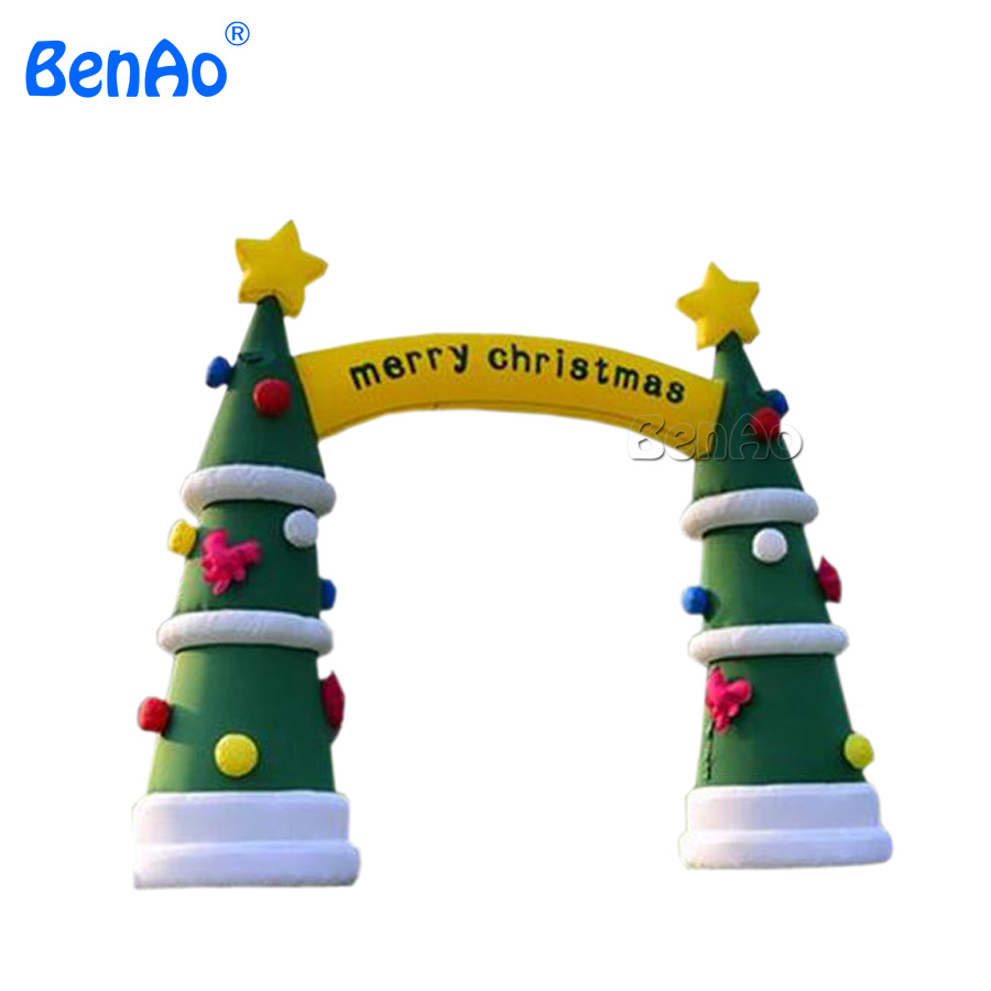 X153 4m inflatable archway for christmas,outdoor christmas arch for ...