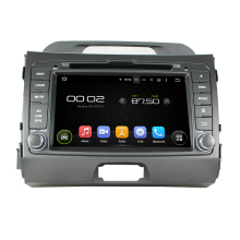 Navirider Android 8.0 radio tape recorder octa Core 4GB RAM 32GB rom with IPS screen for KIA Sportage 2010-2012 head unit