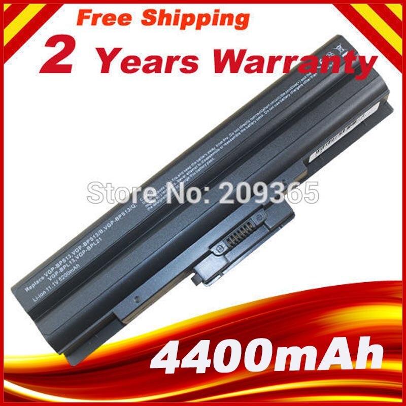 Black Laptop Battery For sony VGP-BPS13 BPS13/B BPS13A VGP-BPS13/Q VGP-BPS13B/Q BPS13B/B VGP-BPS13A/R for sony vpceh35yc b vpceh35yc p vpceh35yc w laptop keyboard