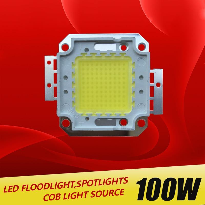 Купить с кэшбэком 1Pcs Full 100W LED Integrated Chip light Source IC 10000LM High Power lamp 30-32V 24*44mil Epistar SMD COB Floodlight Bulb