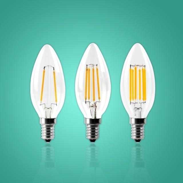 Iminovo C35 Led Kerze Birne E12 E14 Dimmbare Edison Licht Lampe Retro 2 Watt 4