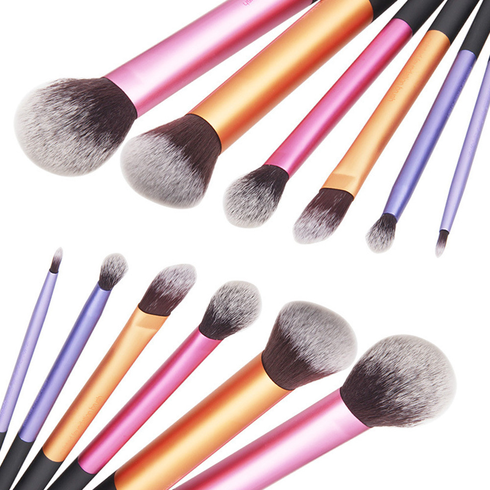 6 PCS Makeup Brushes Set Tools Make-up Toiletry Kit Wool Brand Make Up Brush Set Case Cosmetic Foundation Brush hot sale 2016 soft beauty woolen 24 pcs cosmetic kit makeup brush set tools make up make up brush with case drop shipping 31