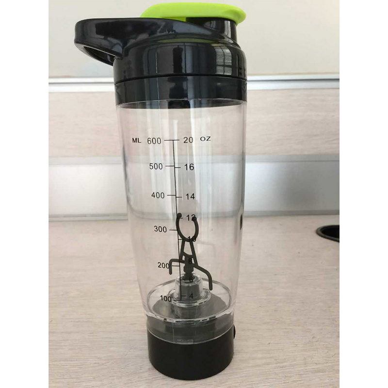 600ml Mixer Bottle Water Bottle Portable Electric Automation Protein Automatic Movement Creative Coffee Milk Smart in Water Bottles from Home Garden