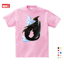 2019 Summer new hot Pocket Toothless T-shirt kinds Cute Tops Cartoon Tees Clothes Cotton  girls baby suit 3T6T9T