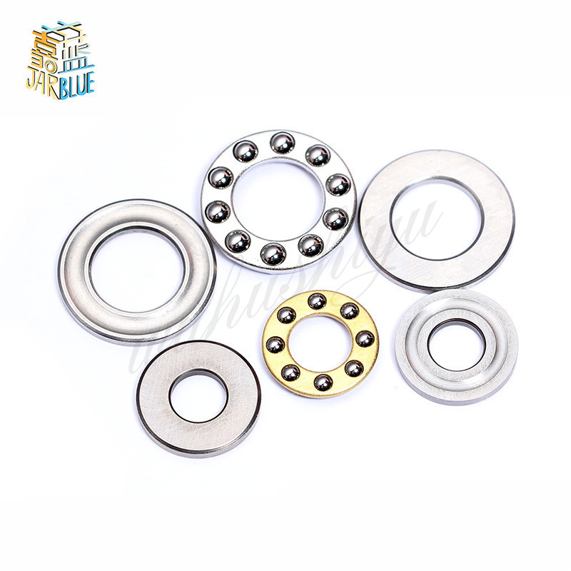 5PCS F2 F2.5 F3 F4  F5 F6 F7 F8 F9  F10  F12 Miniature Bearing Plane Thrust Ball Bearing