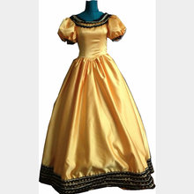 Customer to order! Vintage Costumes Victorian 1860S Civil War Gown historical dresses D-092