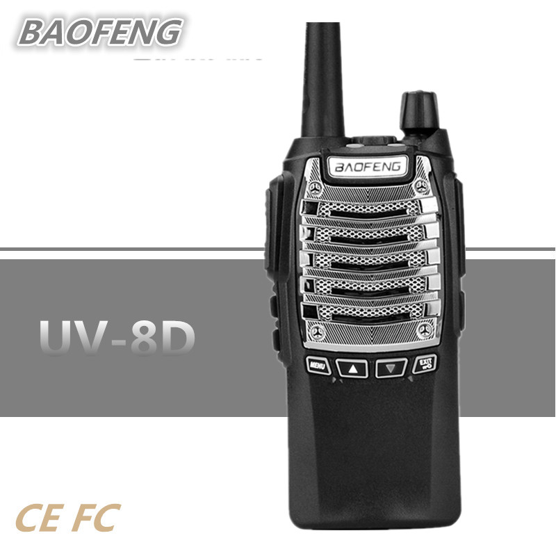BAOFENG UV 8D 400 470 Two Way Radio Walkie Talkie Ham Transceiver Communicator Outdoor Equipment Security Product