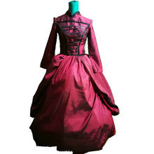 Customer to order! Vintage Costumes Victorian 1860S Civil War Gown historical dresses D-125