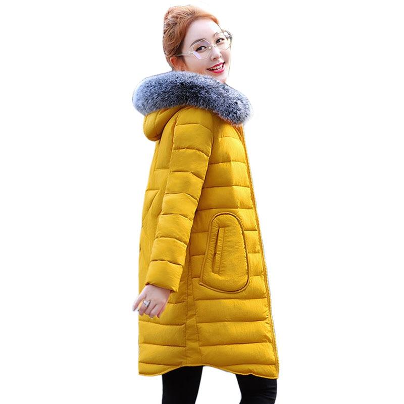 Parkas Women Coats Fashion Warm Winter Jackets Women Fur Collar Long Parka Hoodies Casual Outwear Hot 2017 parkas women coats fashion warm winter jackets women fur collar long parka plus size hoodies casual cotton female outwear