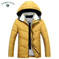 2016 New Winter Men's Hooded White Duck Down Jacket Men's Thick Coats down jacket mens Coats men's warm down jackets
