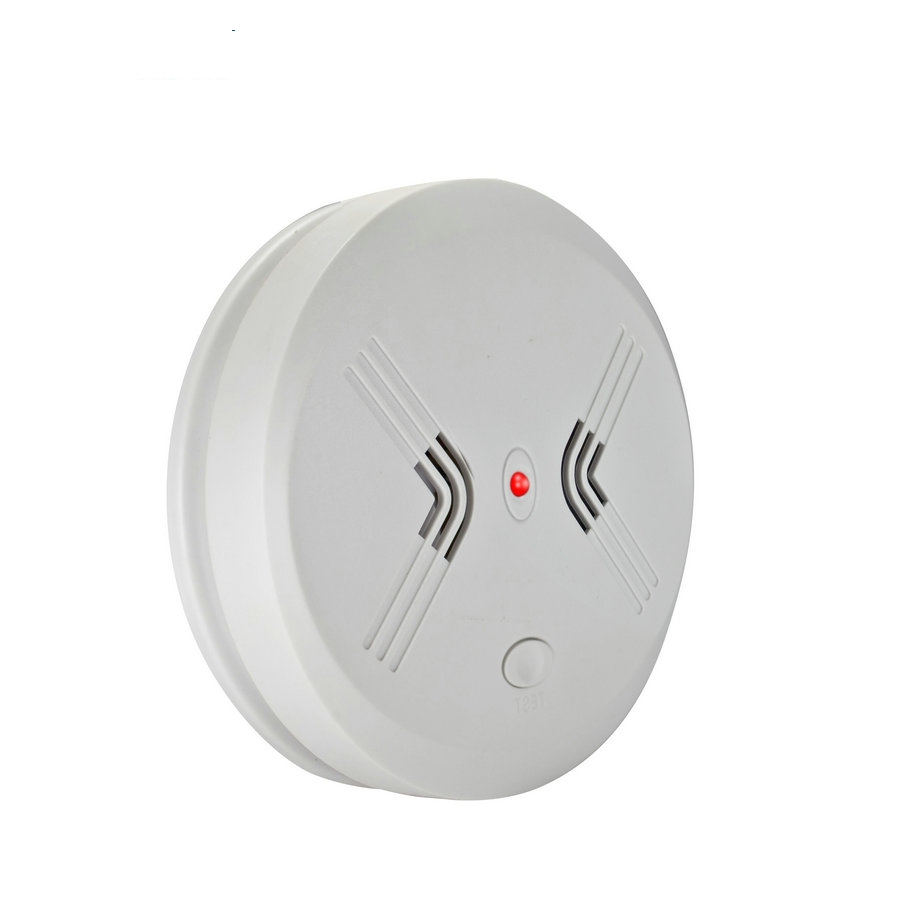Photoelectric Independent Smoke Detector Fire Smoke Alarm Alert Sensor for Home Security Kitchen Restaurant For Free Shipping