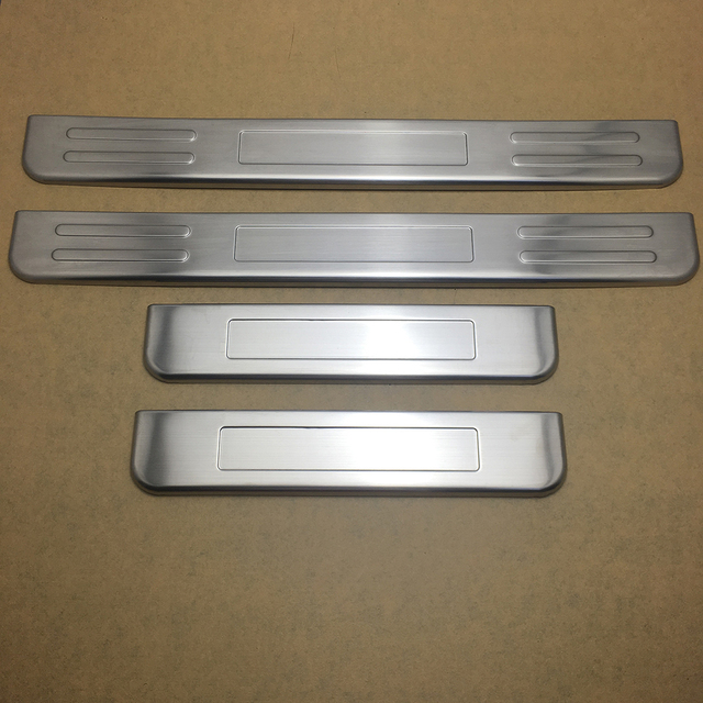 For Nissan Patrol Y62 2011 2017 Car Exterior Door Sill Plate Scuff