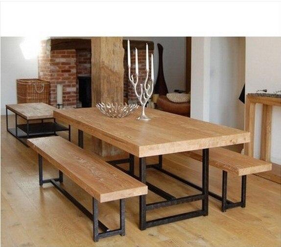 Aliexpress  Buy American retro furniture rustic wrought iron