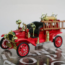 1:32 alloy model car toys, high imitation alloy 1914 Ford Fire Retro Master,Vintage classic decoration vehicles,wholesale