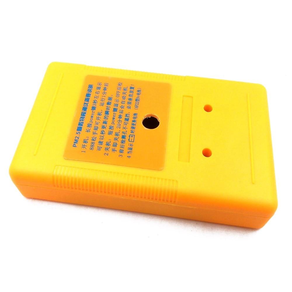 PM2.5 detektoriaus oro kokybės stebėjimo priemonė Dalelių dulkių - Matavimo prietaisai - Nuotrauka 5