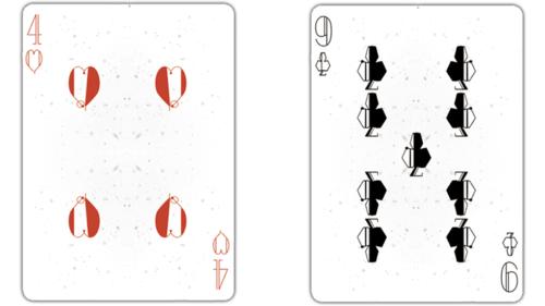 pink nebula playing cards - 800×800