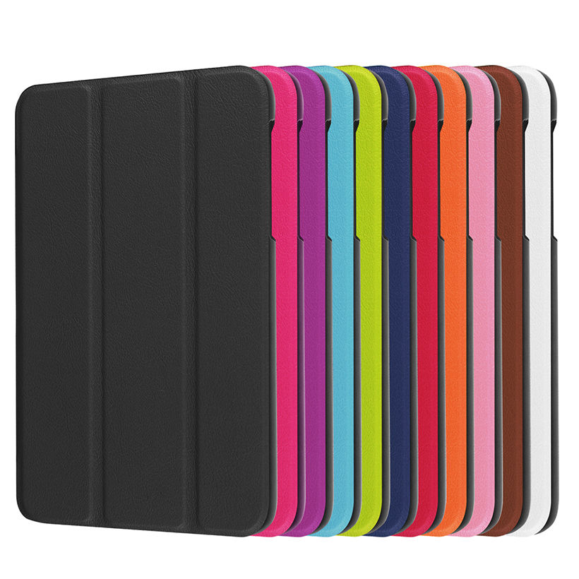 Folio Standı PU Deri Kapak Kılıf Için 2016 Yeni Durumda Samsung - Tablet Aksesuarları - Fotoğraf 3