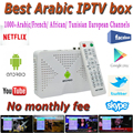 Android Quad Core TV Box With 2 Years 1000 Arabic French IPTV Account Live TV Kodi Preloaded Smart Tv Box Arabic Iptv Free