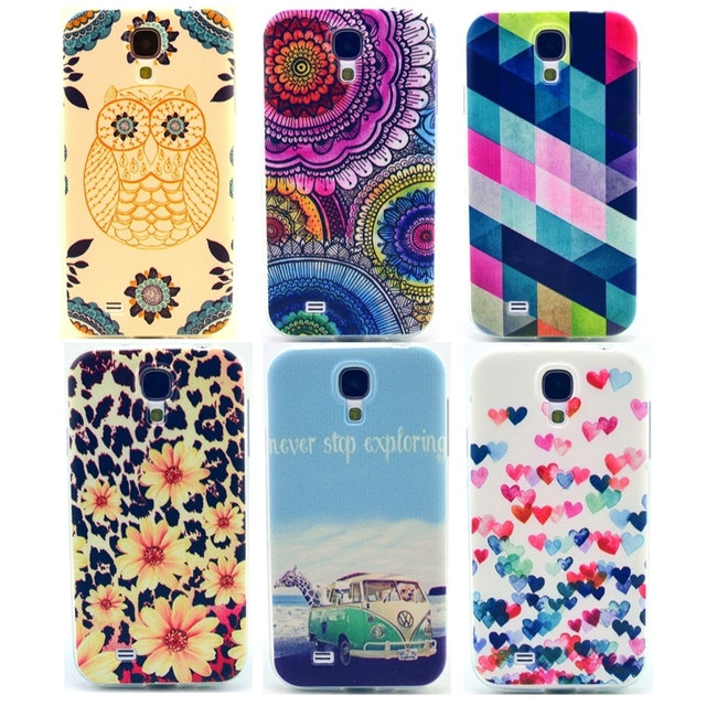 dfb32a685ae Fashion Leopard Soft Mobile Phone Cases for Samsung Galaxy S4 Case for Samsung  S4 Cover i9500 Accessories RB0592