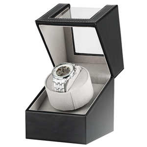 Watch-Winder Rotator-Holder Display Black Motor Mini Case Box Shaker Luxury Au/Eu/us/uk-plug