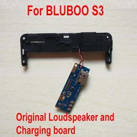 Original Best Working Loudspeaker Loud Speaker and USB Port Charger Charging Board Dock Flex Cable For BLUBOO S3 Phone Parts