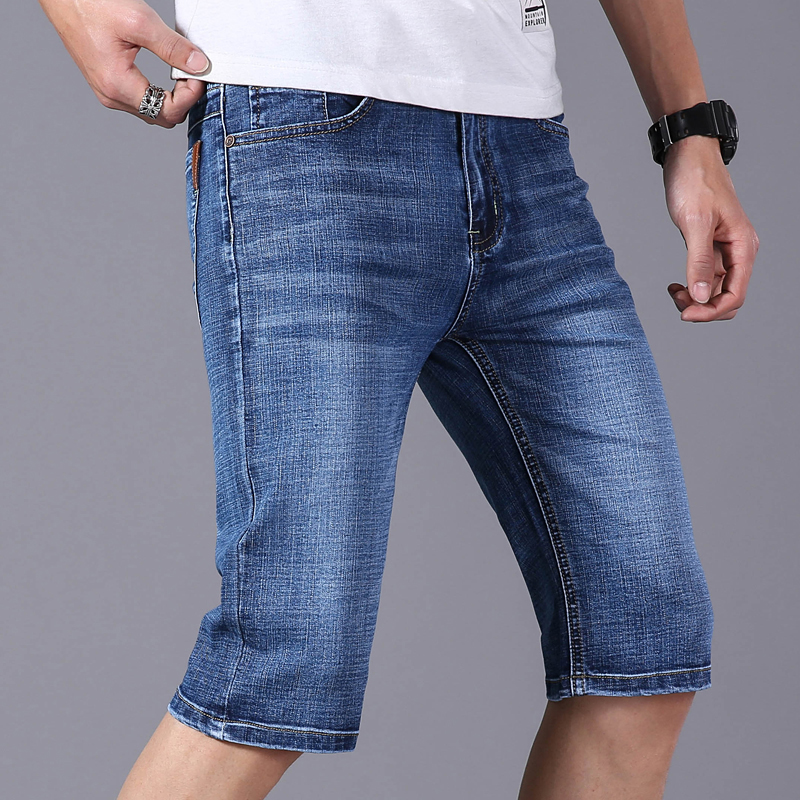 2019 Summer Men's Denim Shorts Good Quality Short Jeans Men's Jeans