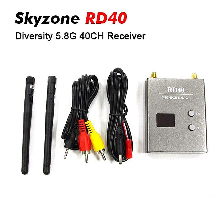 Skyzone RD40 FPV 5.8G 40CH Diversity Receiver