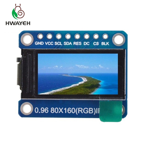 Image 3 - TFT Display 0.96 1.3 1.44 1.8 inch IPS 7P SPI HD 65K Full Color LCD Module ST7735 / ST7789 Drive IC 80*160 240*240 (Not OLED)