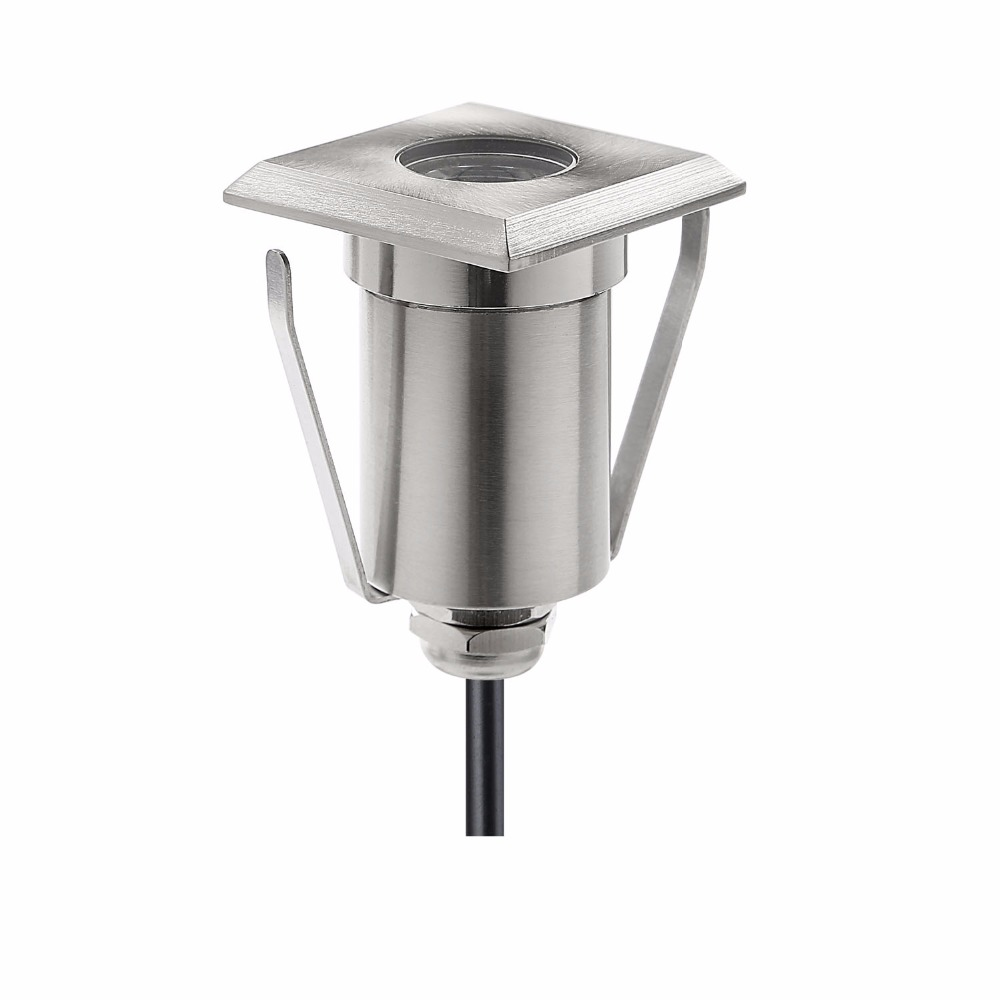 Loyal Landscape Decor Square Led Underground Light Waterproof Outdoor Floor Lamp Recessed Stair Lighting 12v For Plinth Garden F107 Good For Antipyretic And Throat Soother Led Lamps Led Underground Lamps
